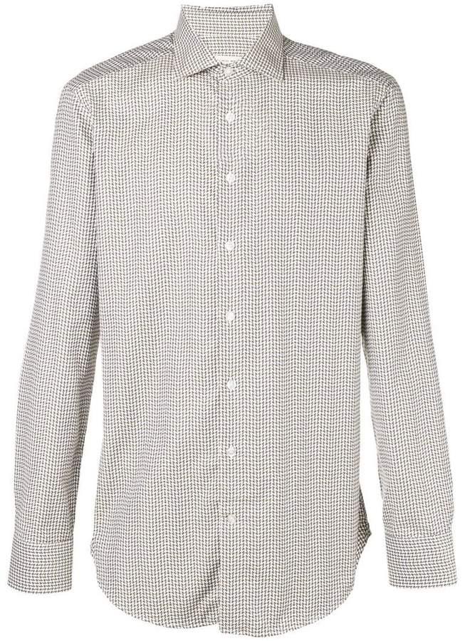 Etro embroidered long-sleeve shirt