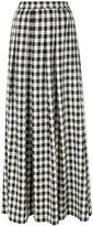 Ultràchic Damier maxi skirt