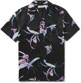 J.Crew Camp-Collar Printed Cotton Shirt