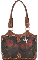 American West Women's Roses Are Red Zip-Top Fashion Tote
