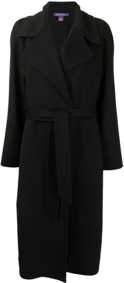Ralph Lauren Collection Tie Waist Trench Coat