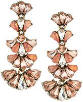 Lydell NYC Teardrop Crystal Multi-Drop Earrings