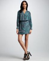 Ali Ro Faux-Wrap Dress