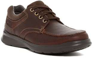 Clarks Cotrell Edge Leather Moc Toe Lace-Up Sneaker - Wide Width Available