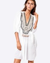 Seafolly Nude Embellished Cover Up