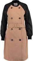 3.1 Phillip Lim Cotton-blend trench bomber jacket