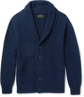 Beams Shawl-Collar Linen and Cotton-Blend Cardigan
