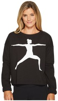 Lucy Show Up Graphic Pullover Women's Long Sleeve Pullover