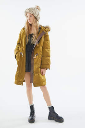AVEC LES FILLES Down Toggle Puffer Coat