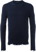 Etro frayed edge sweatshirt - men - Cotton - S
