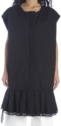 MM6 MAISON MARGIELA Lace-Trim Oversized Dress
