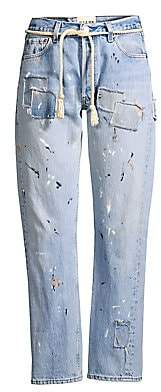 Riley Women's Painters 501 Patch Relaxed Denim