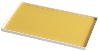Dragonfly Singular Rectangular Tray, Yellow