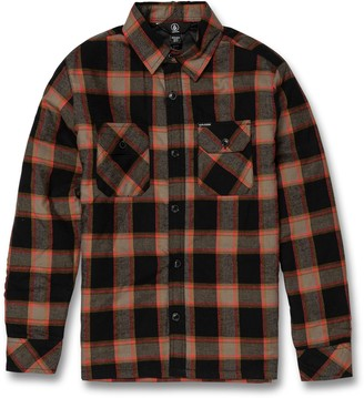 Volcom Belgrade Plaid Shirt Jacket
