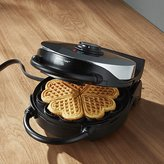 Crate & Barrel CucinaPro Heart Shaped Waffle Maker