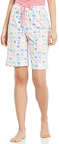 Karen Neuburger Butterfly Bermuda Sleep Shorts