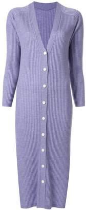 TOMORROWLAND long ribbed-knit cardigan