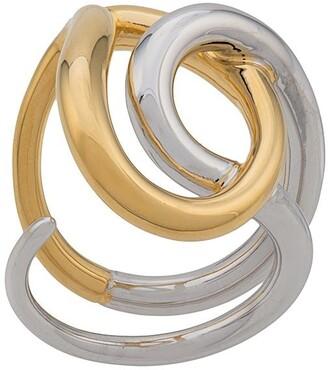 Charlotte Chesnais Blaue knot ring