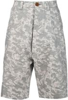 Vivienne Westwood Man camouflage print shorts