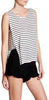 BB Dakota Charmaine Striped Split Tank