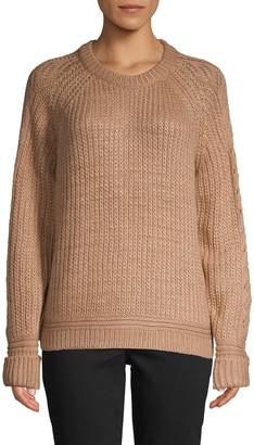 John & Jenn John + Jenn Raglan-Sleeve Sweater