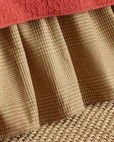French Laundry Home King Jocelyn Plaid Dust Skirt
