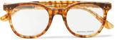 Bottega Veneta Square-frame Acetate Optical Glasses - Brown
