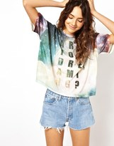 Asos T-Shirt With Are You Dreaming Space Print