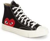Comme des Garcons Women's X Converse Chuck Taylor Hidden Heart High Top Sneaker