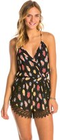 Lucy-Love Lucy Love Flock Together Lacy Romper 8131323