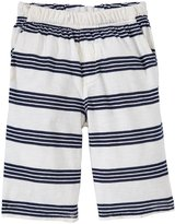 City Threads Jersey Short w/ Stripes (Toddler/Kid) - White-4