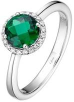 Lafonn Women's Birthstone Halo Ring