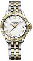 Raymond Weil Women's 'Tango' Quartz Stainless Steel Casual Watch, Color:Two Tone (Model: 5960-STP-00308)