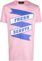 DSQUARED2 Fresh Scouts print T-shirt