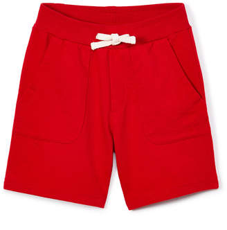 SAM. Sophie & Boys' Casual Shorts Red - Red Drawstring-Waist Shorts - Boys