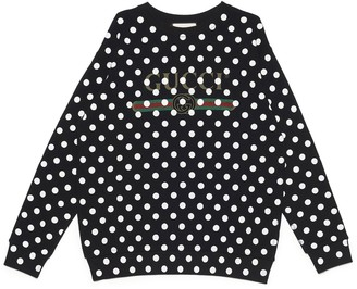 Gucci Polka Dot Sweatshirt