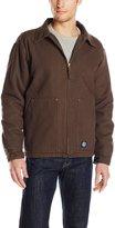 Key Apparel Men's Polar King Collard Jacket with Teflon Fabric Protection