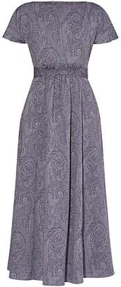 Erdem Fraser Paisley Midi Dress