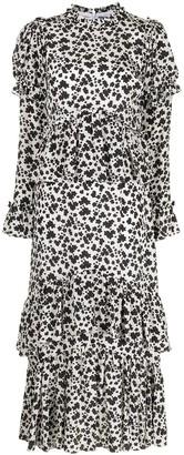 macgraw Parterre blossom print dress