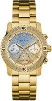 GUESS Women's Gold-Tone Stainless Steel Bracelet Watch 37mm U0774L2