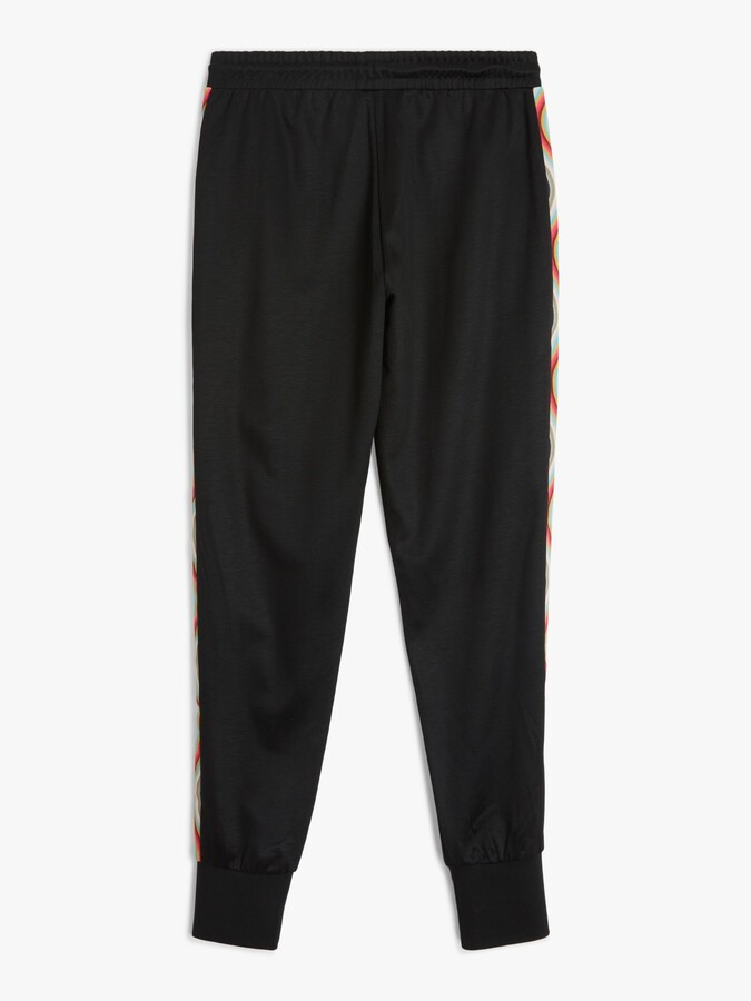 Thumbnail for your product : Paul Smith Drawstring Swirl Trim Joggers, Black