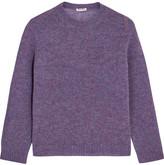 Miu Miu Wool Sweater - Purple