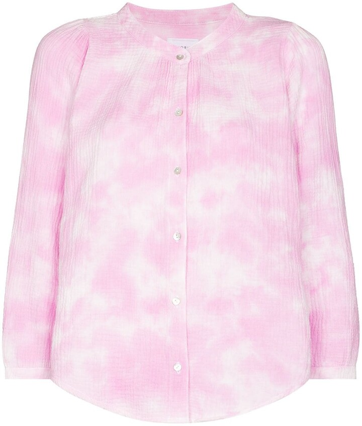 Thumbnail for your product : HONORINE Tie-Dye Long-Sleeve Shirt