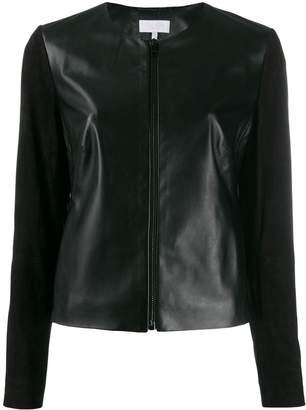 Escada Sport zipped leather jacket