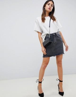 DL1961 Georgia skirt-Black