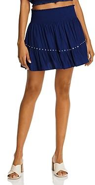 Ramy Brook Embellished Ruffled Mini Skirt - 100% Exclusive