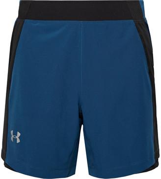 Under Armour Ua Qualifier Speedpocket Mesh-Panelled Running Shorts