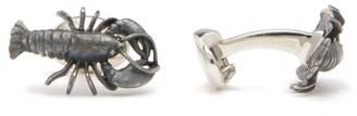 Deakin & Francis Lobster Sterling-silver Cufflinks - Mens - Silver