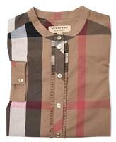 Burberry Women's Brown Cotton Shirt.