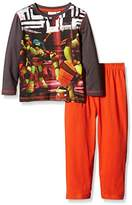 Nickelodeon Boys' Ninja Turtles Long Sleeve Pyjama Set
